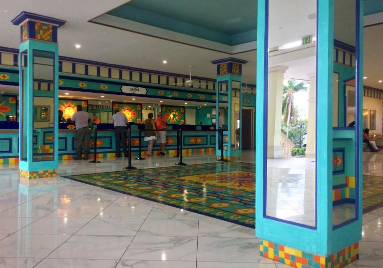 Breezes Bahamas Front Lobby