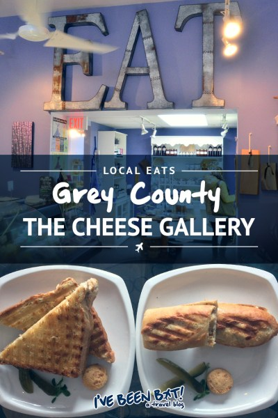 I've Been Bit! A Travel Blog :: Local Eats [Grey County] The Cheese Gallery | BruceGreySimcoe, Ontario, Canada, Food, Foodie, Travel |
