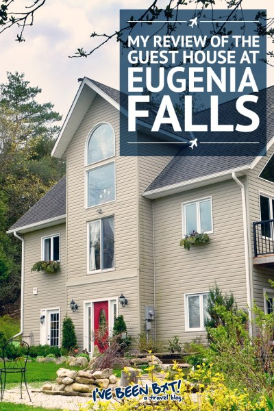 I've Been Bit! A Travel Blog :: The Guest House at Eugenia Falls | Grey County, Ontario, Canada, Inn, B&B, Hotel |