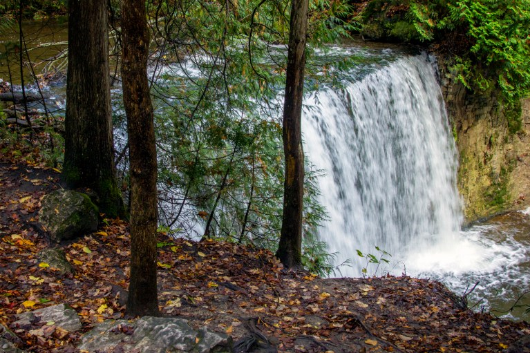 I've Been Bit! A Travel Blog - Grey County Autumn Adventures Hoggs Falls Hiking
