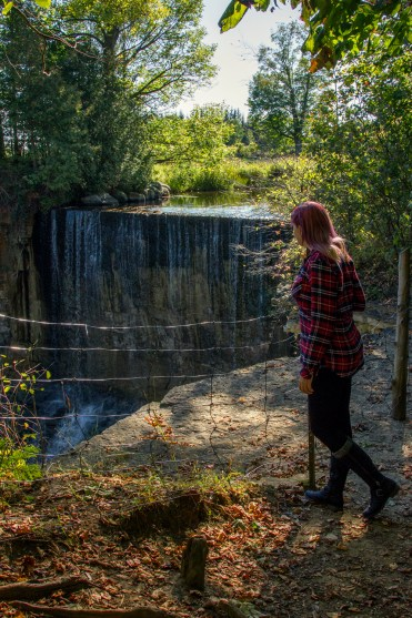 I've Been Bit! A Travel Blog :: Grey County Autumn Adventures - Indian Falls Hiking