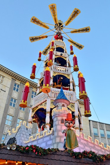 Fairytale Tower at Kassel Weihnachtsmarkt - A Fairy Tale German Christmas Market :: I've Been Bit! A Travel Blog