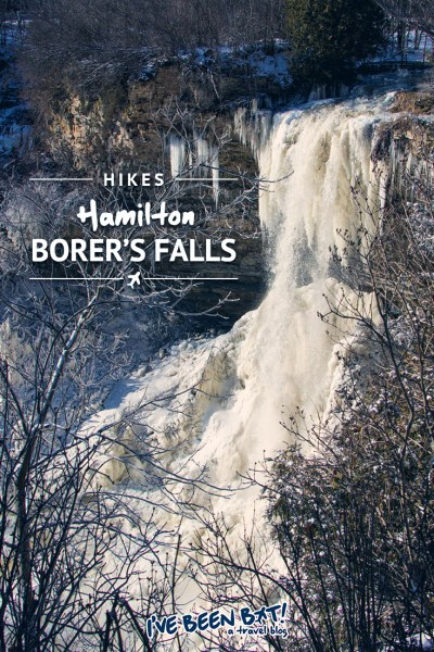 IveBeenBit.ca | Hiking Hamilton's Borer's Falls | Canada, Ontario, Waterfalls, City of Waterfalls, Hamilton Halton Brant, Travel, Hiking, Adventure | #Canada #Ontario #Waterfalls #Hamilton #HamiltonHaltonBrant #Travel #Hiking #Adventure |