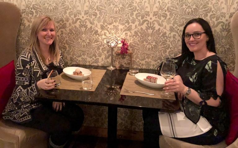 Girls Dinner Date at Cabin Hockley Valley :: I've Been Bit! A Travel Blog