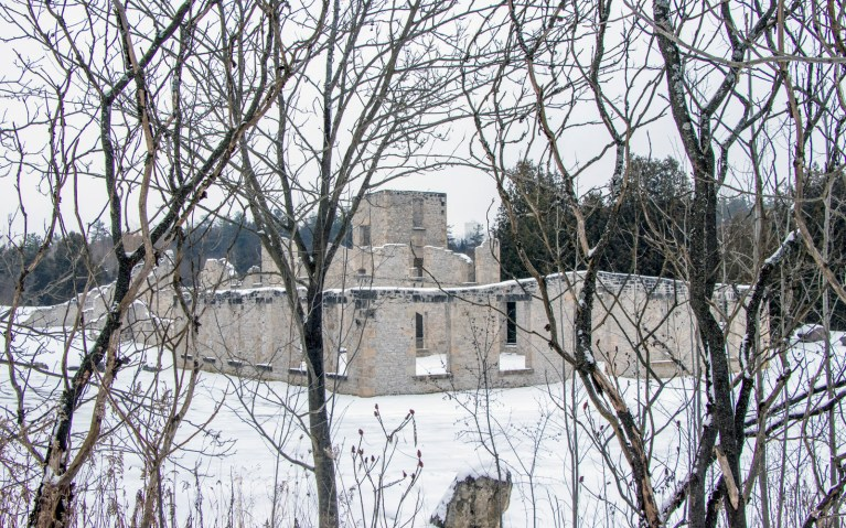 Harris Woolen Mill in Rockwood Conservation Area :: I've Been Bit! A Travel Blog