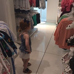 Roxy Jacenko's daughter Pixie eyeing some new purchases...