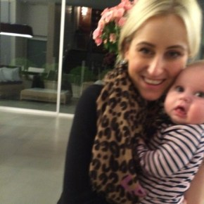 Roxy Jacenko and her son Hunter