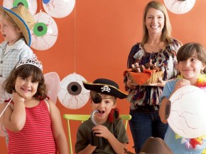 Halloween breakfast party for kids