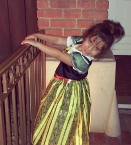Mario Lopez's daughter Gia