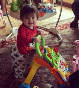 Mario Lopez's son, Dominic