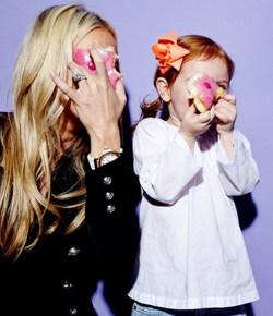 Roxy Jacenko with her daughter Pixie