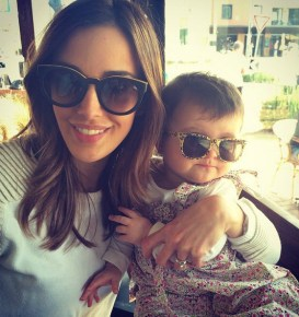 Bec Judd and her daughter Billie