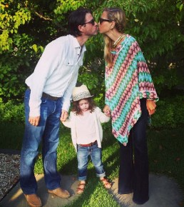 Rachel Zoe and her husband Rodger and son Skyler