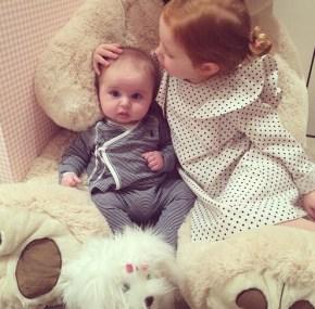 Roxy Jacenko's daughter Pixie and son Hunter