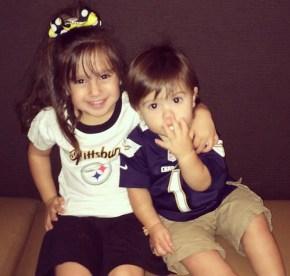 Mario Lopez's children Gia and Dominic