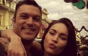 Megan Fox's husband gets Instagram. Immediately posts cute photos of their kids.