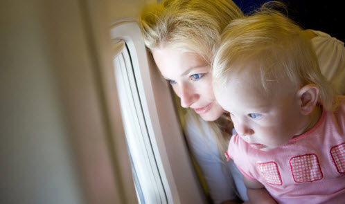 How to prepare yourself for airplane travel with kids.