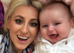 Roxy Jacenko's little boy is in hospital.