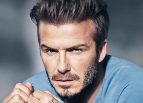 David Beckham's latest modelling photos have landed.