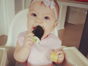 Welcome to the world of baby lead weaning, the new way to introduce solids.
