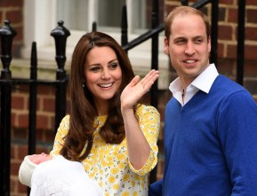 Kensington Palace just announced the Princess' name.