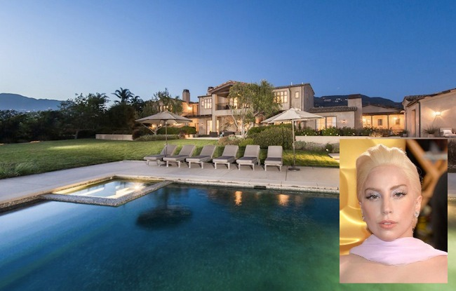 Thought Lady Gaga's house would be a bit, well, different? You're totally wrong.