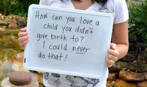 The things that strangers say to these adopted girls is disgusting