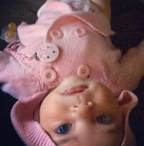 Aleeia daughter of Jodi Gordon