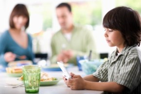 Do you let your kids have technology at the table? I do.