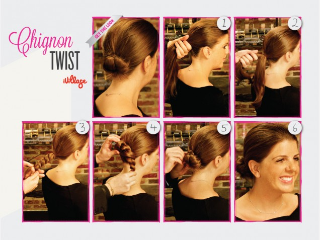 DIY Chignon Twist