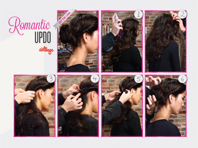 DIY Romantic Updo