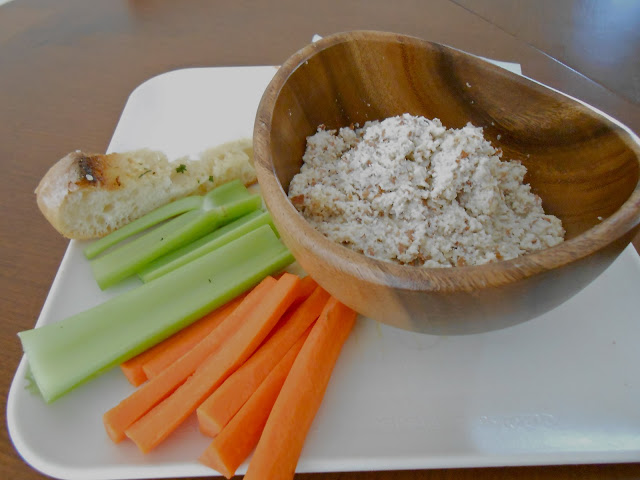 Onion Soup Mix + Raw Almonds = Onion Dip