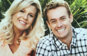 The first photo of Grant Denyer's second baby.