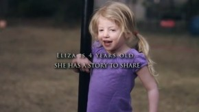 Why this little girl's parents want her video to go viral.