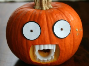 Look at what you can do with a pumpkin
