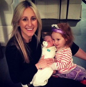 Roxy Jacenko with her little family