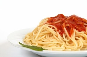 Spaghetti with hidden vegetables