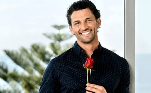 The Bachelor hands out his final rose