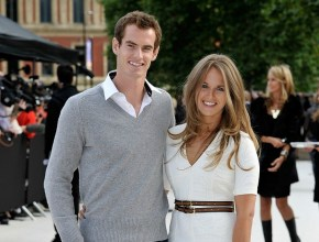 Andy Murray talks about his upcoming wedding day after winning last night's match.