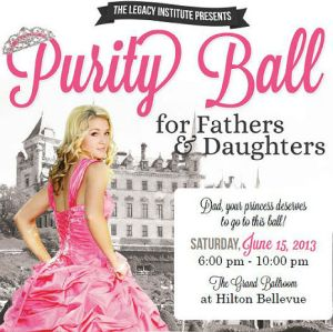 Purity balls. Sweet – or downright creepy?