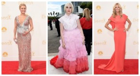 All the Red Carpet frocks at the Emmys.