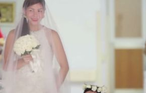 This bride knew that her marriage would probably last less than a day. She was right.