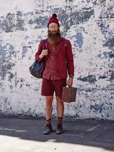 Who decided the world needed Hipster Santa?