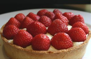 James Martin's Strawberry Fruit Tart