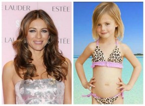 Leopard-print bikinis on little girls. Okay or not okay?