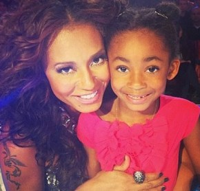 Mel B with Madison, 2.