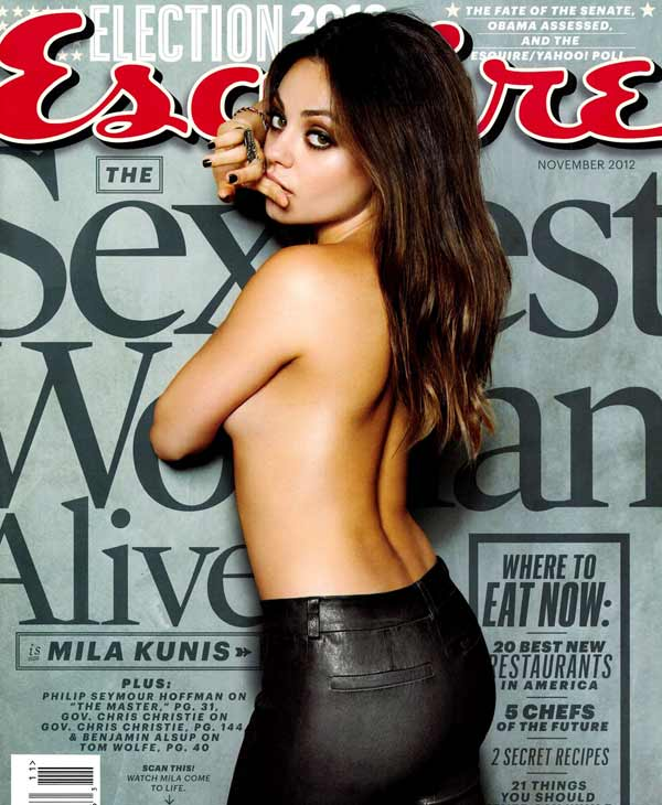 the glossies mila kunis cover