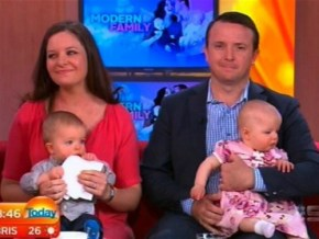 Miracle twins: one IVF, the other natural