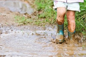 Why letting your kids walk home covered in mud is a good thing.