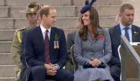On their last day in town, the Royals pay their respects.